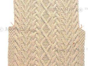 Подробная Японская Обучалка по Вязанию Кос (Аранов). Ярмарка Мастеров - ручная работа, handmade.