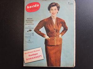 Бурда моден 1/1954 Burda moden. Ярмарка Мастеров - ручная работа, handmade.