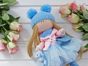 Наборы для создания кукол  и мастер класс по интерьерной кукле | Ярмарка Мастеров - ручная работа, handmade