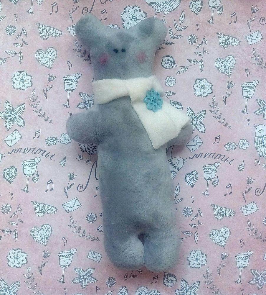 текстильная кукла, текстильный мишка