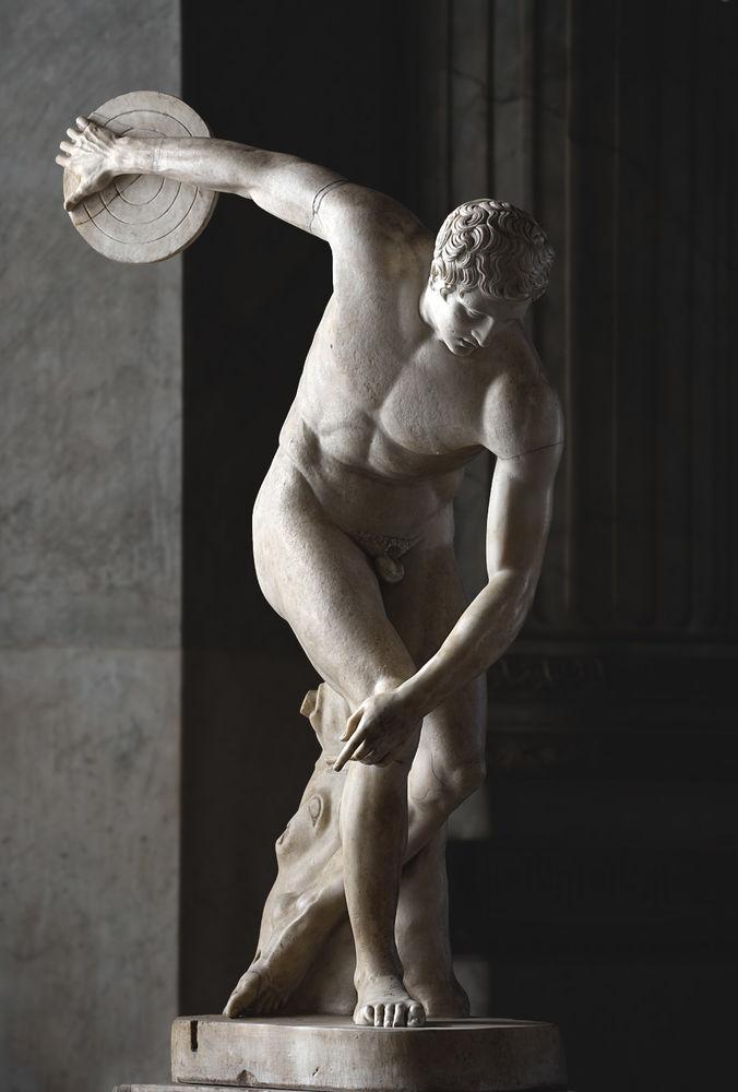 скульптуры древней греции фото наряд