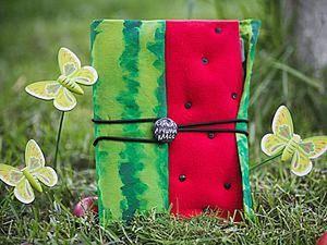 Practical Watermelon: Making a School Notebook. Livemaster - handmade