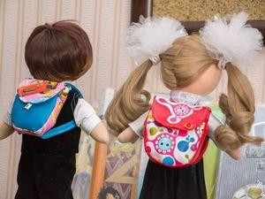 Шьём миниатюрный рюкзачок для кукол. Ярмарка Мастеров - ручная работа, handmade.