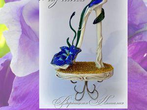 Мастер-класс: создаем декоративную туфельку из гипса. Ярмарка Мастеров - ручная работа, handmade.