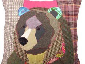 Медведи в пэчворке для взрослых и не очень. Ярмарка Мастеров - ручная работа, handmade.