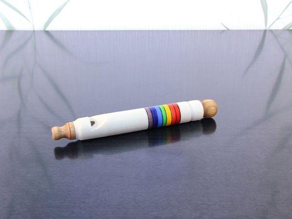 Озорной свисток или Цуг-Флейта | Ярмарка Мастеров - ручная работа, handmade
