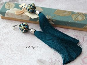 Красивая упаковка для серег-кистей! | Ярмарка Мастеров - ручная работа, handmade