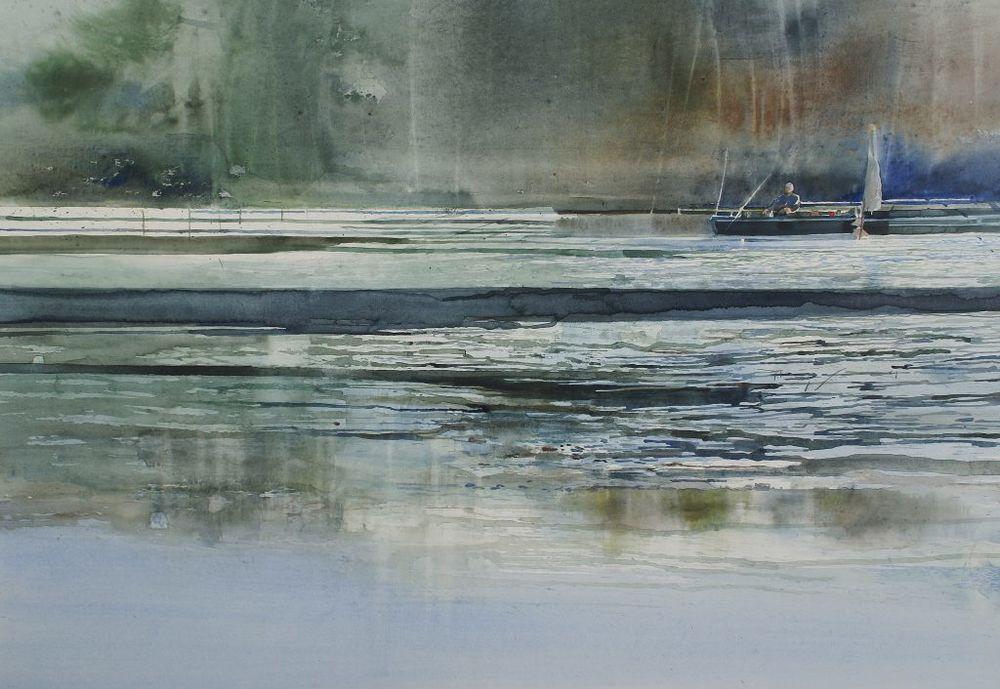 акварельные пейзажи