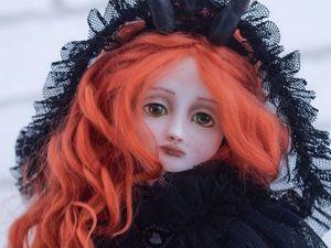 Рождение новой куклы. Этери. Ярмарка Мастеров - ручная работа, handmade.