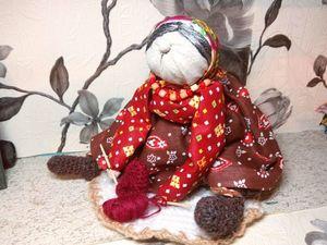 Создаем подарочную народную куклу «Бабка Характерная». Ярмарка Мастеров - ручная работа, handmade.