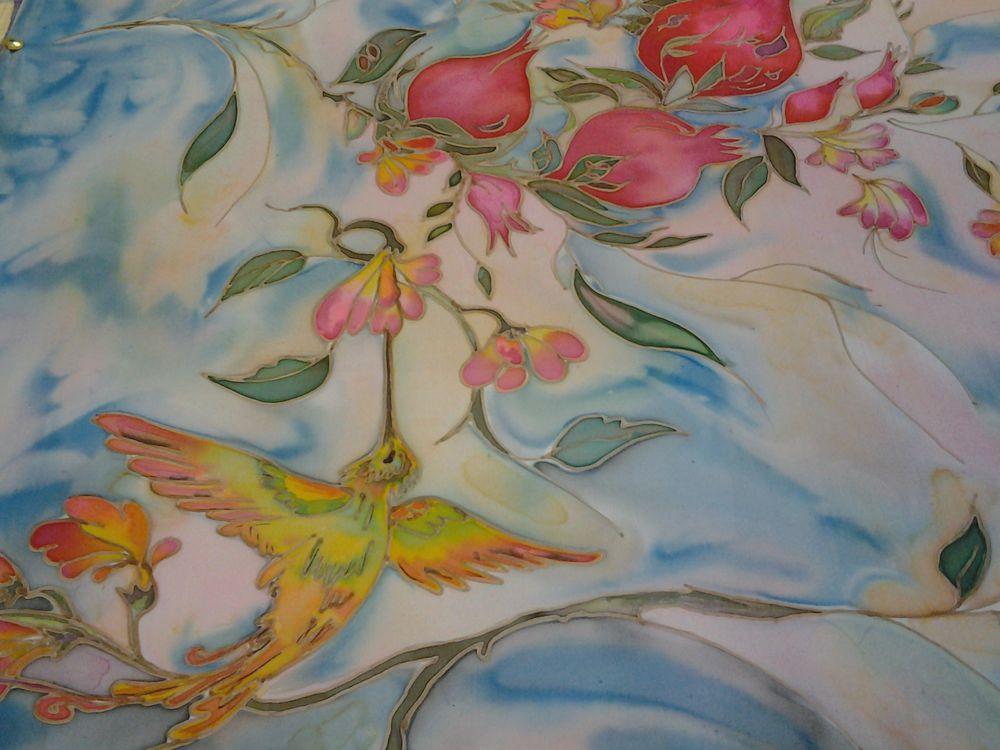 Мастер-класс по холодному батику (росписи по ткани)., фото № 8