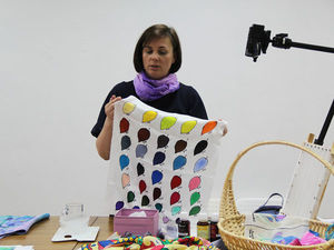 Отчет о встрече с Надеждой Улумбековой на тему красителей H Dupont 30 мая 2018. Ярмарка Мастеров - ручная работа, handmade.