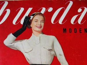 Burda moden 1/1957 Бурда Моден. Ярмарка Мастеров - ручная работа, handmade.