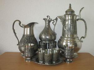 Посуда из олова | Ярмарка Мастеров - ручная работа, handmade