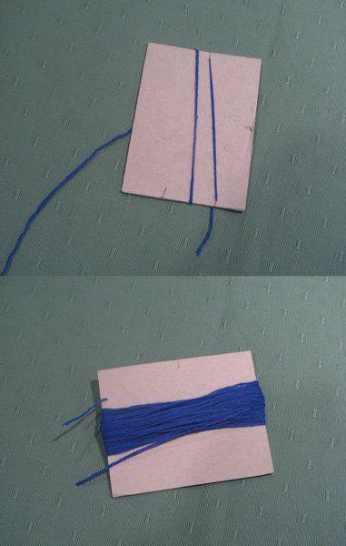 кисточки из ниток
