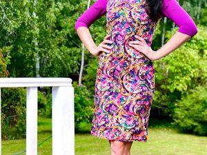 Аукцион на платье 42 размер, старт 1000 руб.!. Ярмарка Мастеров - ручная работа, handmade.