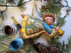 Небольшая воскресная история, о том, как я начала расписывать и шить ёлочные игрушки Батик.. Ярмарка Мастеров - ручная работа, handmade.