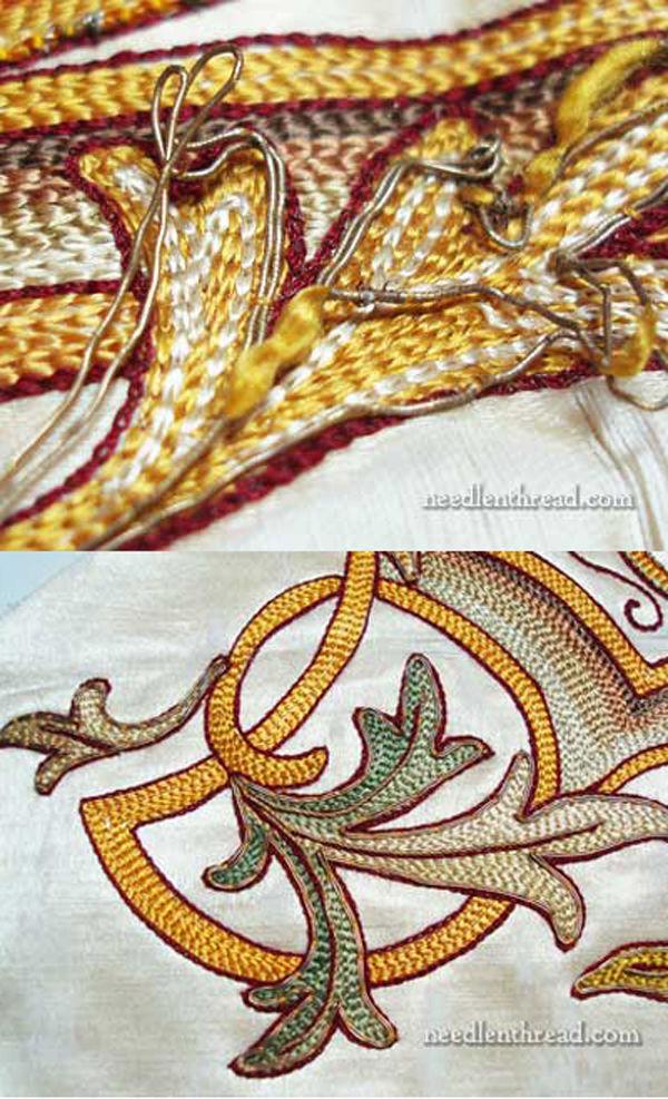 Обзор старинной церковной вышивки из коллекции Mary Corbet