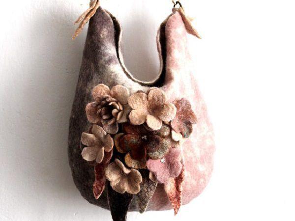 Уход за войлочной сумкой. | Ярмарка Мастеров - ручная работа, handmade