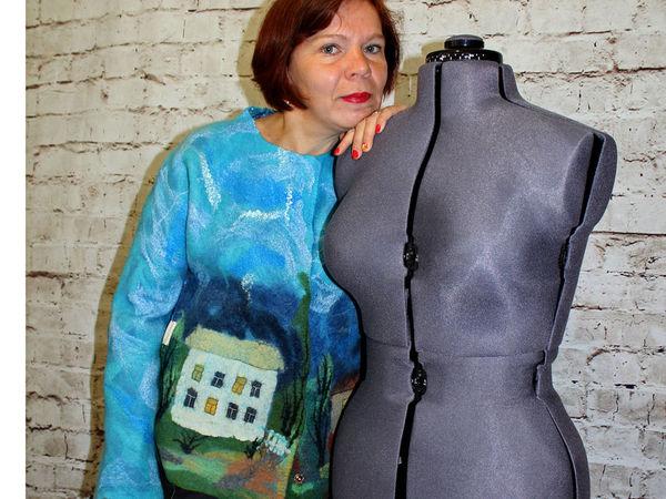 Валяная одежда роскошных размеров! | Ярмарка Мастеров - ручная работа, handmade