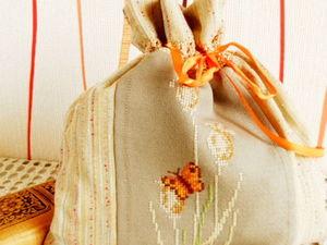 Акция на новый практичный мешочек для хранения чего угодно. Ярмарка Мастеров - ручная работа, handmade.