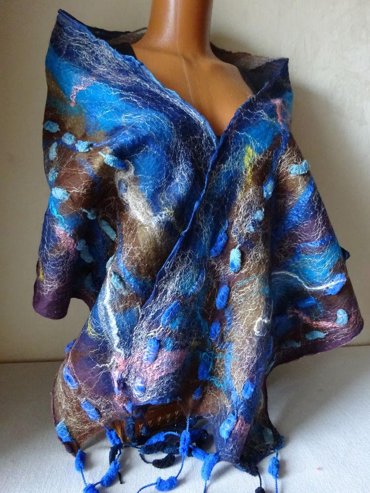 купить валяный шарф