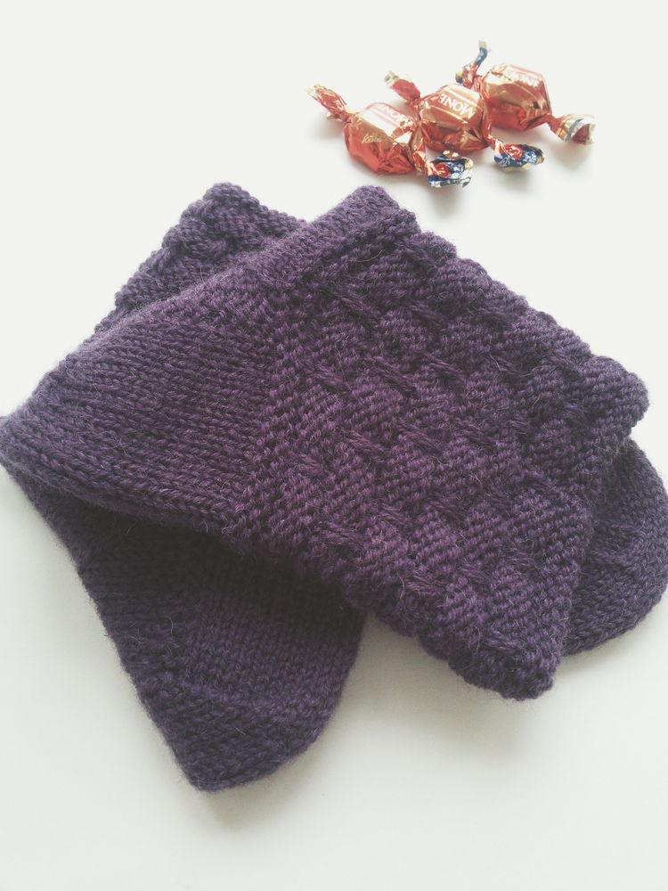 носки шерстяные, носки баклажановые, носки 100% шерсть