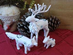 Духи Зимы — лепим фигурки из папье-маше. Ярмарка Мастеров - ручная работа, handmade.