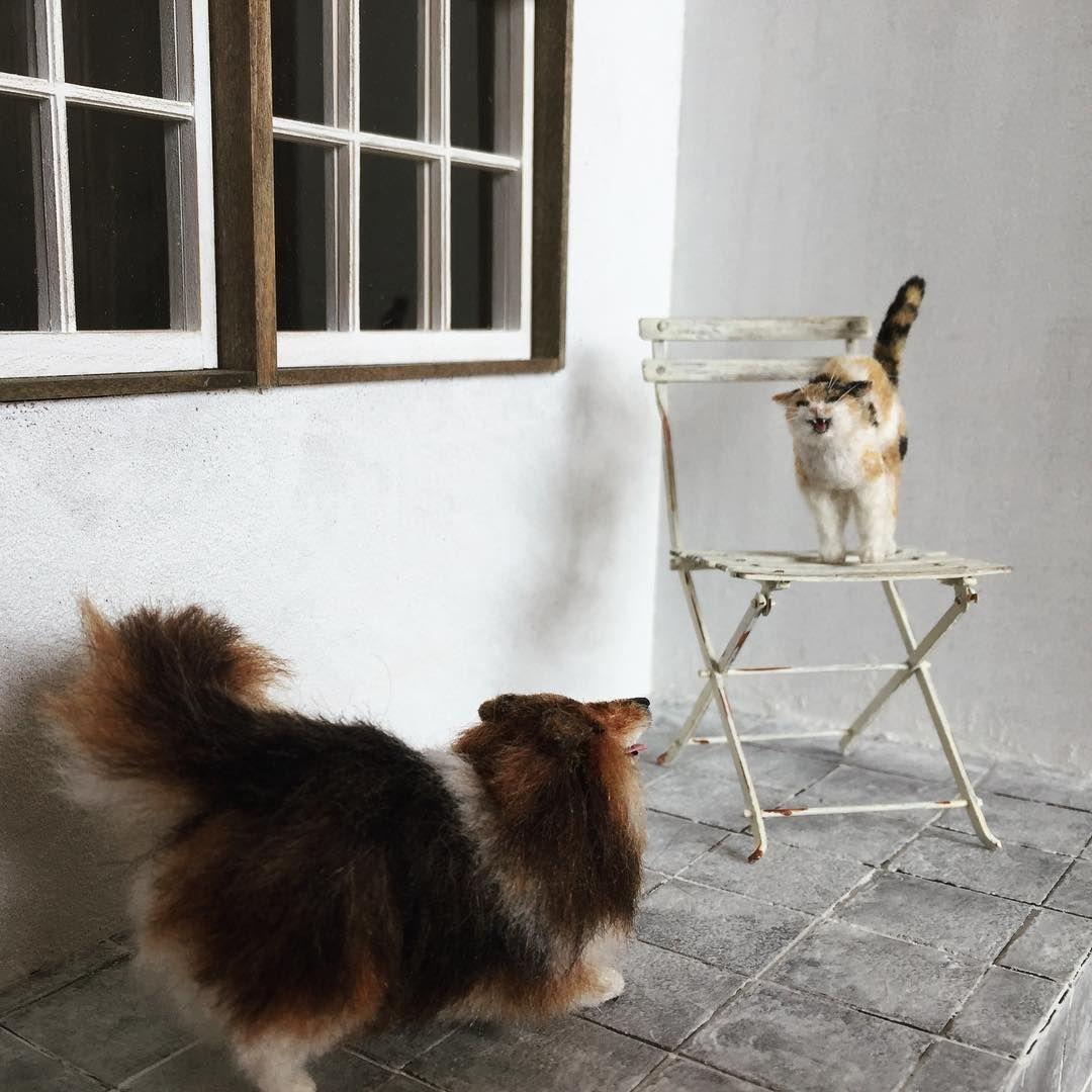 Awww Miniatures: Adorable Pets by Tomoko Masakage, фото № 21