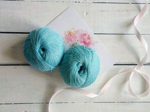 Мятная шапочка доступна к заказу. Ярмарка Мастеров - ручная работа, handmade.