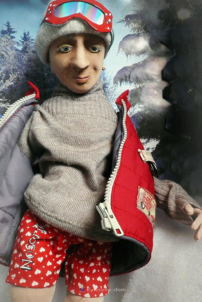 шарж кукла