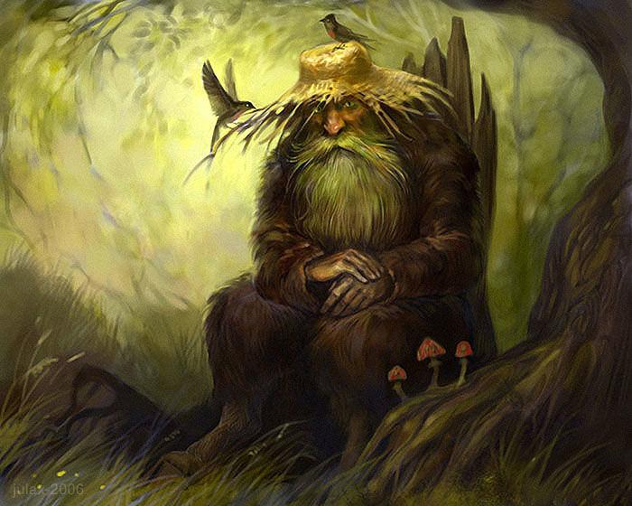 русские сказки, дух леса, хозяин леса