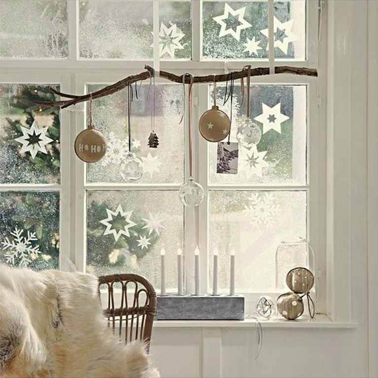 How to Decorate Windows for New Year: 20 Great Ideas, фото № 6