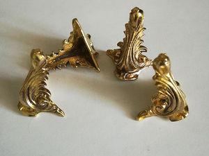 Ножки для шкатулок бронза (литье). Ярмарка Мастеров - ручная работа, handmade.