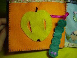 гусеница-шуршалка