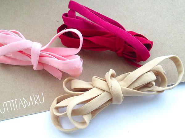 Резиночки для повязок, как выбрать?   Ярмарка Мастеров - ручная работа, handmade