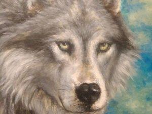 Новый волк. Ярмарка Мастеров - ручная работа, handmade.