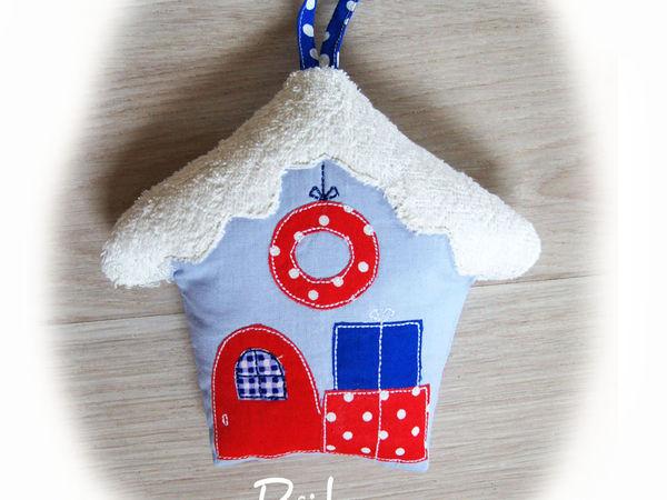 Домик в подарок от Мастерской интерьерного текстиля PUH | Ярмарка Мастеров - ручная работа, handmade