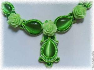 Сутажная конфетка!!! | Ярмарка Мастеров - ручная работа, handmade