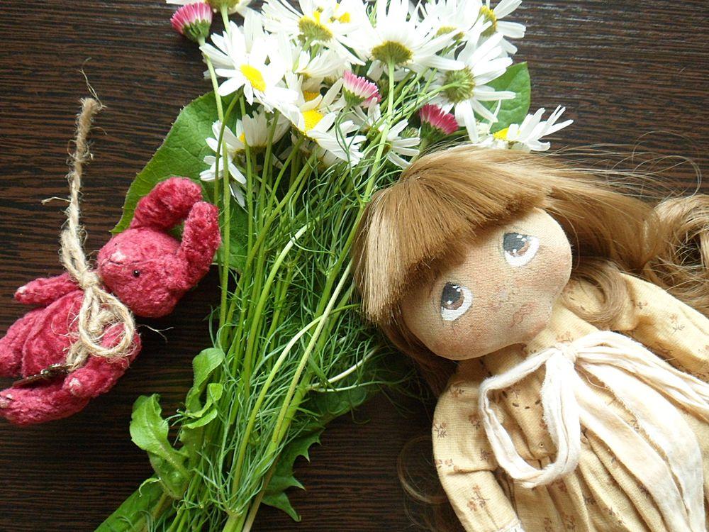кукла в ладошку
