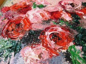 Розы к 8 марта. Розыгрыш картины. Приглашаю.   Ярмарка Мастеров - ручная работа, handmade