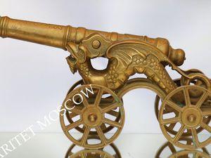 РЕДКОСТЬ Пушка антикварная бронза латунь дракон 5 | Ярмарка Мастеров - ручная работа, handmade