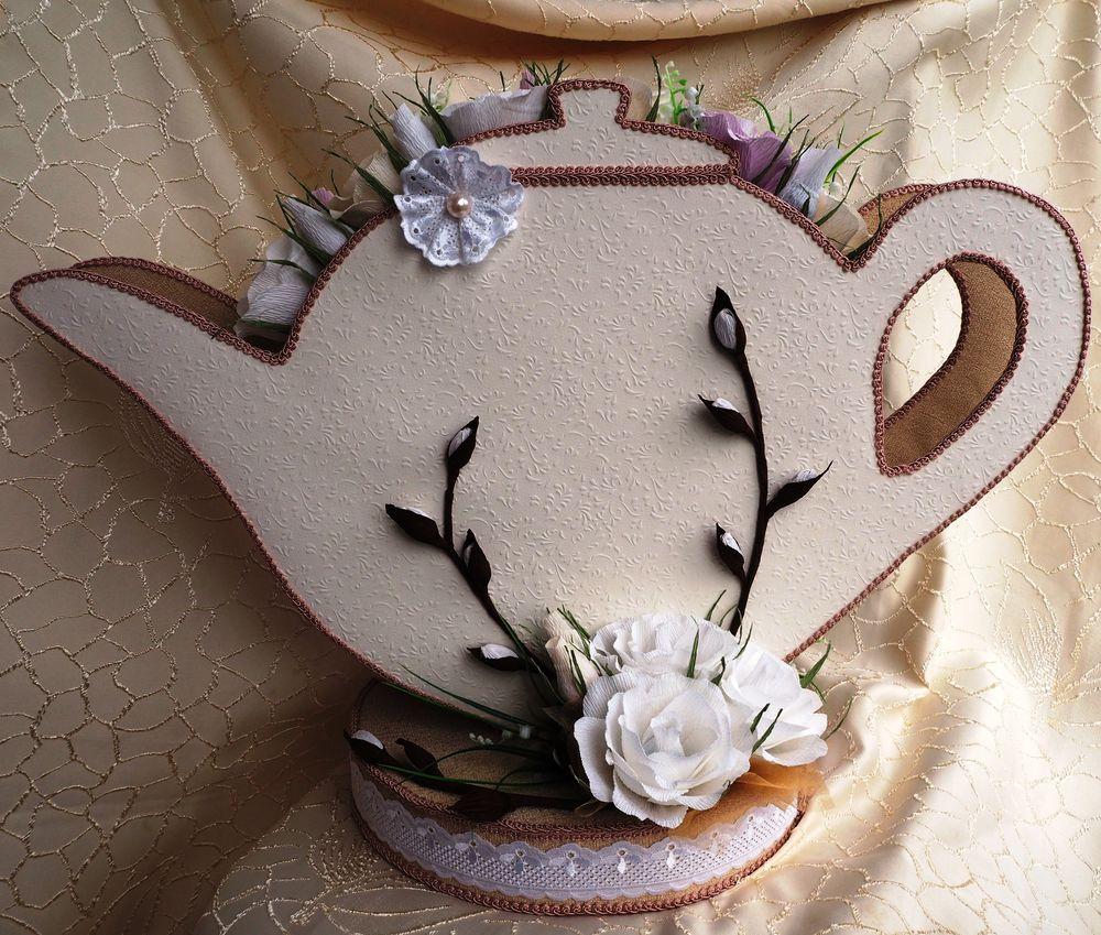 чайник из конфет