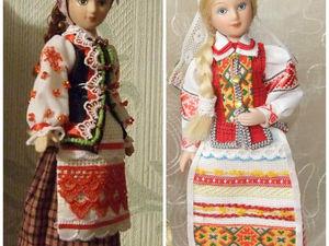 Мои куклы в белорусском народном костюме. Ярмарка Мастеров - ручная работа, handmade.