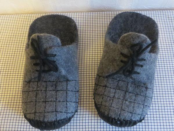 Тапочки для папочки! | Ярмарка Мастеров - ручная работа, handmade