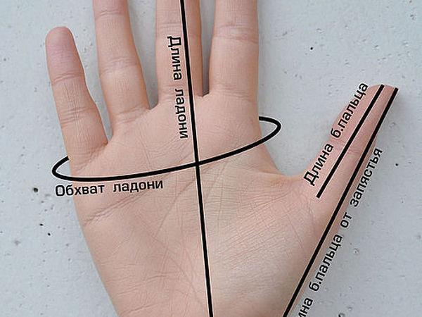Размеры моих митенок/варежек: как измерять и выбирать | Ярмарка Мастеров - ручная работа, handmade
