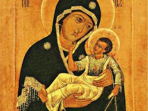 6 октября, день празднования Словенскй иконы Божией Матери. Ярмарка Мастеров - ручная работа, handmade.