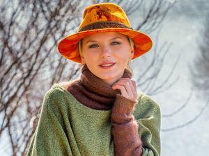 Фетровые шляпы в технике «Акварель». 19 и 23 мая.   Ярмарка Мастеров - ручная работа, handmade