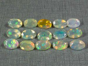 Опалы 15 камней | Ярмарка Мастеров - ручная работа, handmade