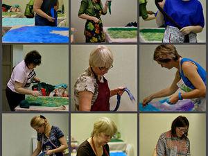 Фотоотчёт с третьего занятия Курса по одежде Ирины Федотовой. Ярмарка Мастеров - ручная работа, handmade.